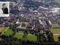 Aerial view of Cambridge (inset: Tania Verdonk)